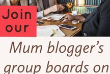 Mum blogger's group board / Add your pins to this group board to get more traffic to your blog