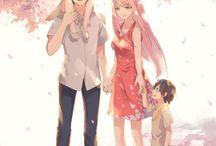 Anime drawings