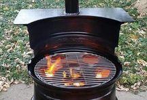2 me/am / Bbq  Wood or coal cooking  (Braai)