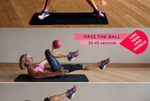 Exercise to Tighten Legs, Bums, Tums