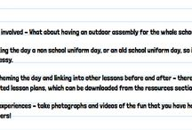 Outdoor Clasroom Day Resources