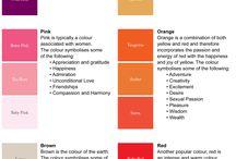 signification des couleurs ;.