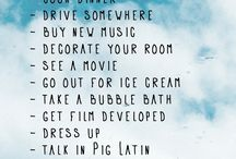 summer ideas!!