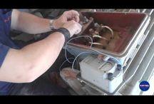 Medida de aislamiento y resistencia de un motor trifásico / Comprobación del buen estado de un motor eléctrico trifásico para su posterior instalación en una estación de bombeo de agua salada en una piscifactoría en Cádiz