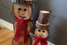 Χριστουγεννιάτικες διακοσμητικές χειροτεχνίες