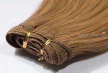 Mega Hair Cabelo Tecido / Possuem um acabamento perfeito, é fácil de colocar e tem uma boa durabilidade, duram mais de 8 meses. Você tem mais de 15 cores disponíveis para escolher.