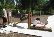 DIY outdoor fitness
