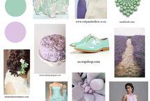 mint & lavender inspiration board