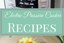 Pressure Cooker Recipes - Instant Pot - Presto - Power Pressure - Cuisinart