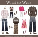 What to Wear for Clients / No need to match, just coordinate! Pick 2-4 colors and stick within those for your palette. Avoid neon colors - they photograph terribly! Hope you find some inspiration here! :) / by Elaina Janes