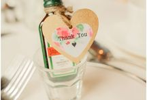 Wedding Favours / A gift for your guests as a memento of your special day.