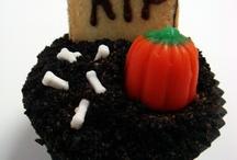 Halloween Cupcake Graves