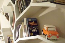 Półka drzewo / Półka na książki jak drzewo. Wykonana z płyt kartonowo gipsowych. Wykonuje różne wzory.  Kontakt marcin.stelma@gmail.com