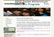 1000 Gates Millennium Scholars & Other Top Scholarships / scholarshipsbar.com is an updated listing of scholarships for people who seek financial help to pursue higher studies at college, university level, and for those who like to participate in training program and to those who who like to conduct research either in their country or abroad.