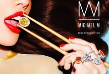 Michael M. Collection / Not your average girl's best friend. The Michael M collection was inspired by those who understand that some traditions were meant to be broken. They marry time-honored craft with modern design to create unique pieces that elevate the art of fine jewelry. All Michael M. pieces are handcrafted in a Los Angeles studio.