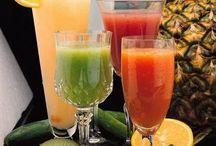 Fresh fruit juice bar