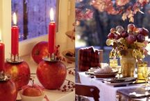 Quick ideas for decor with apples