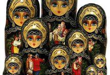Russian-05 Dolls Матрёшки Куклы