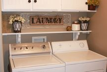 Mud room/laundry / by Brittney