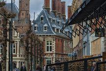 Haarlem / Foto's van vooral het centrum van Haarlem (kerk, grachten, gebouwen)