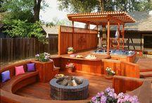 Backyard spa ideas