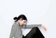 How to wear striped shirts, sweaters etc. / Stripes stripes stripes in all kinds of tops.