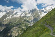 Hiking - tour de mt blanc