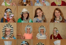 Party-Egyptian/Archaeology / Ideas for an Egyptian, archaeology, or Indiana Jones type party.