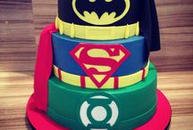 Justice league birthday party