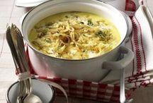 Suppen, Hauptgerichte,