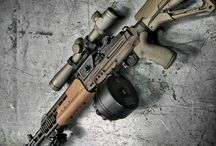 Airsoft / Various airsoft guns and gear