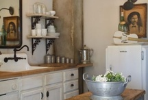 Kitchens / The room where we spend much of our time. So many great kitchens out there. / by Debby Harriettha