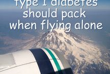 type 1 and travel / by Diapers & Diabetes
