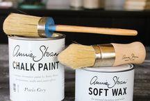 Chalk paint projects & instructions
