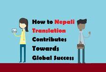 Nepali Translation Services