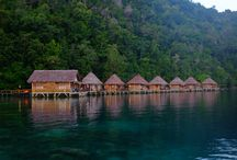 Ora Beach, Seram Island, Indonesia / Last holiday, i went to Heaven on earth called Ora Beach. It's located in Seram Island. It takes up to 6 hours trip from city. No electricity, No aircon, No signal / internet. But it's so worth beyond words.