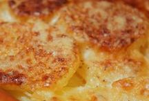 gratin de pomme de terre au boursin roquefort