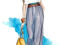 Fashion Illustration Inspiration  / by Nature's Threads NL
