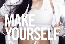 Fitness. / What you do today can improve all of your tomorrows - Ralph Marston