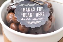 coffee and chocolate theme wedding