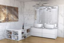 Modern bathroom designed by Luxum