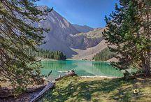 Mountain lakes - ibones / The high mountain lakes in Posets-Maladeta Natural Park