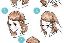 Penteado fáceis