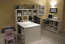 1-craft room / by Lori Robinson