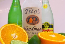 Drinks with Topo Chico!