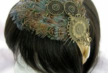 hairpieces and dresses