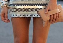 Skirts and shorts -- micro to maxi