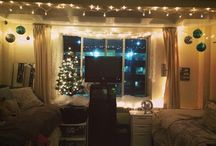 Christmas Dorm Décor / Looking for creative ways to decorate your room for Christmas? Look no further! / by Ohio Dominican University