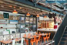 Bar, cafe and Restaurant.