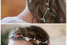 Gehäkelt Blumen Stirnbänder